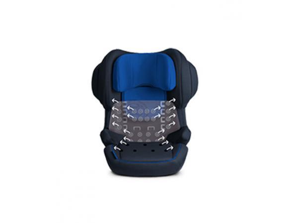 cybex si ge auto juno 2 fix blue moon navy blue. Black Bedroom Furniture Sets. Home Design Ideas