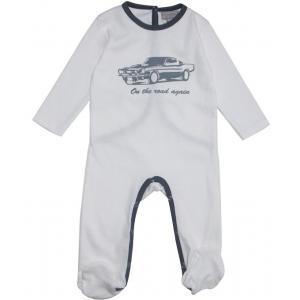 Le Marchand d'Etoiles - 32229-18993 - Pyjama bebe Detroit gris (363612)