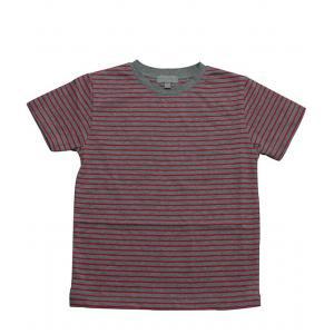 Le Marchand d'Etoiles - 32215-18989 - Tee-shirt bebe Tanger milleraies gris/rouge (363624)