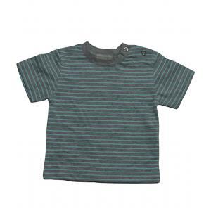 Le Marchand d'Etoiles - 32202-18987 - Tee-shirt bebe Tanger milleraies gris/bleu (363626)