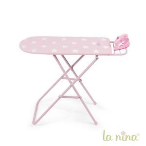 La nina - 60411 - Table + fer a repasser carlota(60x51x18 cm) (364042)