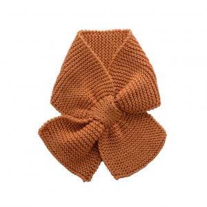Bamboo and Love - C21-48 - Echarpe en maille camel 4-8M (364112)