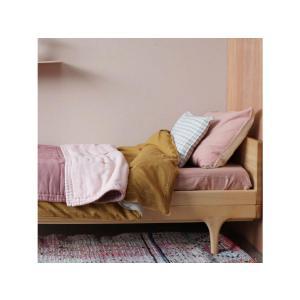Camomile London - C06-4MCC - Taie d'oreiller imprimée petits carreaux corail - 65 x 65 cm (364384)