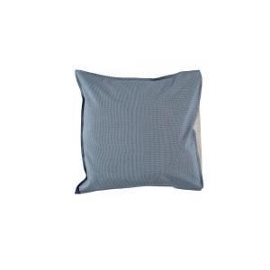 Camomile London - C06-4MCB - Taie d'oreiller imprimée petits carreaux bleus - 65 x 65 cm (364410)