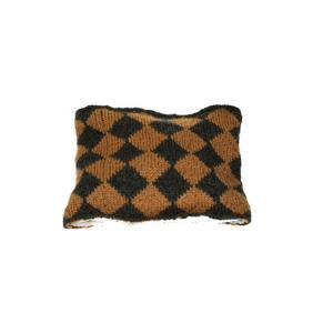 Lullaby Road - Lumberjack-2-6-ans - Echarpe tube Jacquard gris foncé et caramel - 2/6 ans (364440)