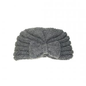 Lullaby Road - Turban-2-4-ans - Bonnet turban gris avec noeud - 2/4 ans (364448)