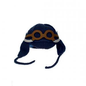 Lullaby Road - Mam-1-2-ans-charbon - Bonnet gris foncé avec lunette amovible Mammouth - 1/2 ans (364484)