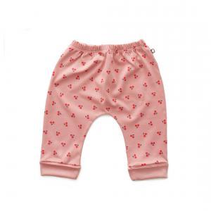 Oeuf Baby Clothes - L124375106 - Pantalon sarouel cerises en coton biologique rose - 1600 (364678)