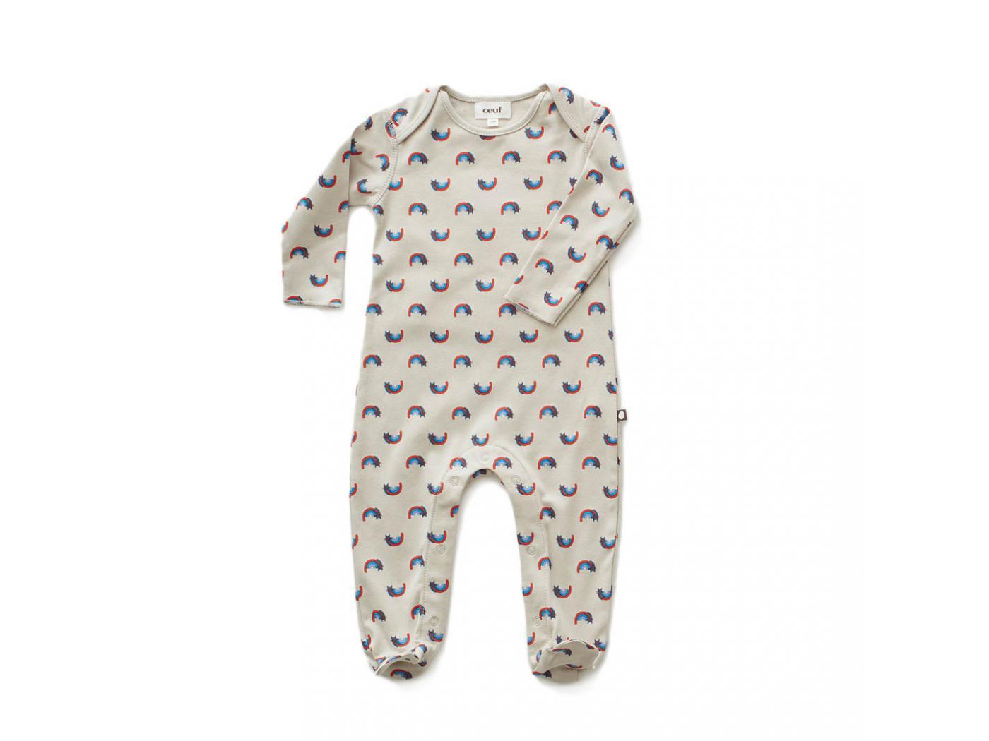 Oeuf Baby Clothes Combinaison Avec Pieds Chats Et Arcs