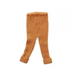 Oeuf Baby Clothes - K11617180006 - Pantalon Côtelé ocre en Alpaga 6M (364764)
