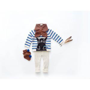 Oeuf Baby Clothes - K11615190018 - Pantalon Côtelé blanc en Alpaga 18M (364766)