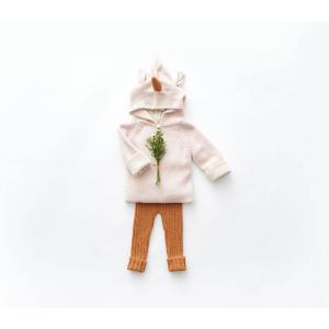 Oeuf Baby Clothes - K10317141912 - Pull à Capuche rose licorne en Alpaga 12M (364776)