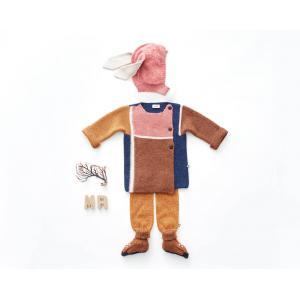 Oeuf Baby Clothes - K10216250012 - Cagoule rose lapin en Alpaga 6/12M (364798)