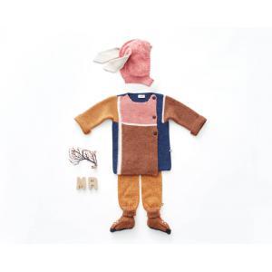 Oeuf Baby Clothes - K10216250018 - Cagoule rose lapin en Alpaga 12/18M (364800)