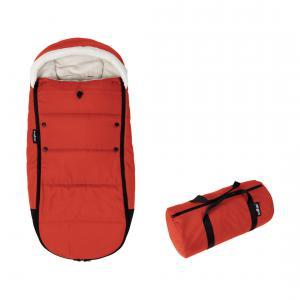 Babyzen - BZ10209-04 - Nouvelle chancelière Rouge doublée et son sac de rangement pour poussette YOYO (364872)