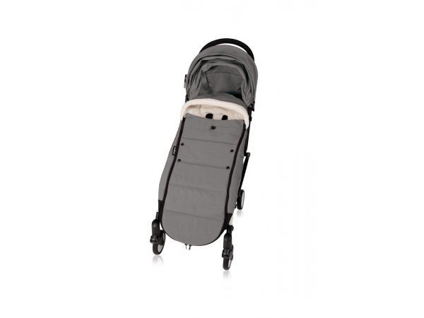 babyzen nouvelle chanceli re grise doubl e et son sac de. Black Bedroom Furniture Sets. Home Design Ideas