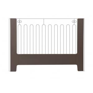 Bloom - 10365-FG-11-AHA - Rail de conversion pour berceau Alma papa gris clair - 106 x 31 x 9 cm (365940)