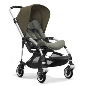 Bugaboo - BU113 - Nouvelle poussette bugaboo bee 5 avec capote vert olive chassis alu (366120)