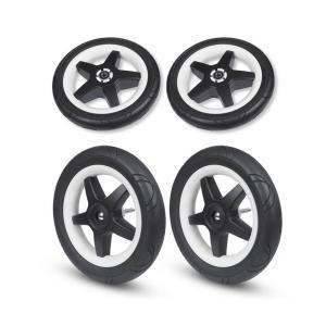 Bugaboo - 180524 - Set de remplacement roues remplis de mousse (4 pièces) pour poussette Donkey (366306)
