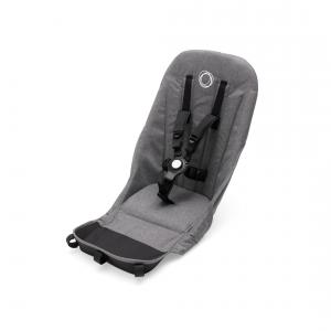 Bugaboo - 180118GM01 - Bugaboo Donkey2 habillage siège duo Gris chiné (366318)