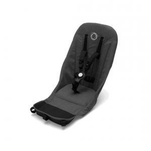 Bugaboo - 180118ZW01 - Habillage de siège complémentaire NOIR pour poussette Bugaboo Donkey2 (366324)