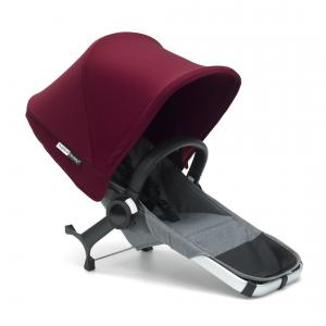 Bugaboo - 180133GR01 - Bugaboo Donkey2 extension duo complète Gris chiné (366334)