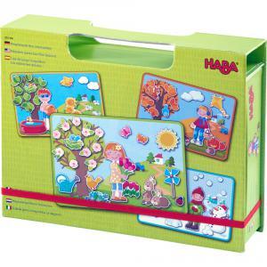 Haba - 303386 - Boîte de jeu magnétique Les 4 saisons (366808)