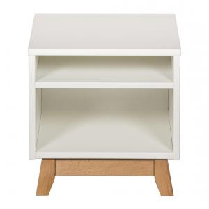 Quax - 54051822 - Table de nuit Trendy - blanc (367018)