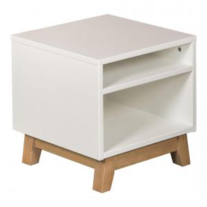 Quax - 54051822 - Table de nuit Tredny - blanc (367018)