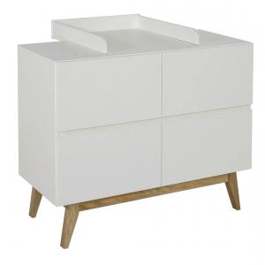 Quax - 54034222-E - Extension plan à langer pour commode Trendy - blanc (367022)