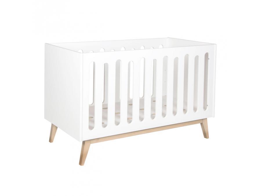 quax lit b b volutif trendy blanc 70 140 cm. Black Bedroom Furniture Sets. Home Design Ideas