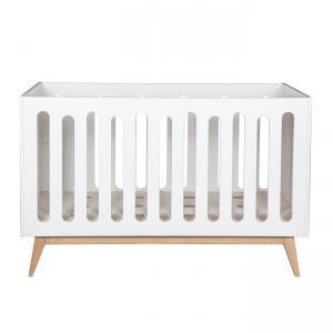 Quax - 54014122XL - Lit bébé évolutif Trendy - blanc 70*140 cm (367026)