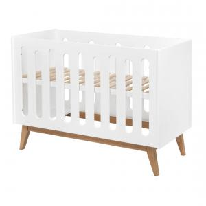 Quax - 54014122 - Lit bébé Trendy - blanc 60*120 cm (367028)