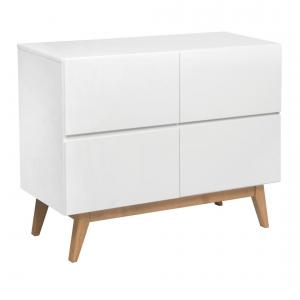 Quax - 54034222-4D - Commode 4 tiroirs Trendy - blanc (367038)