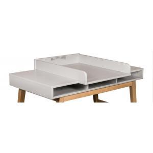 Quax - 54051724-E - Rallonge pour bureau Trendy - gris (367054)
