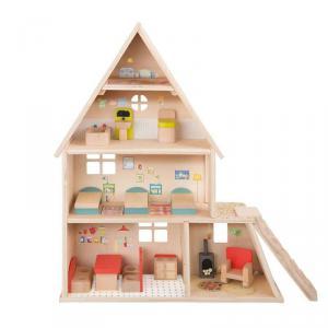 Moulin Roty - 632420 - Maison de poupée avec mobilier (367122)