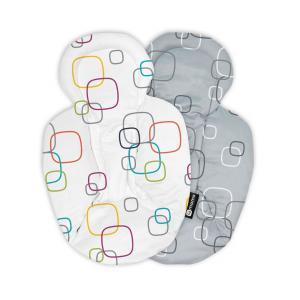 4moms - 17-37-011 - Réducteur confort pour balancelles MamaRoo /RockaRoo et BounceRoo Multicolore/Gris-Blanc 17 (367580)