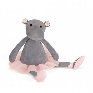 Jellycat - DDS6H - Dancing Darcey Hippo Small - 23 cm (367648)