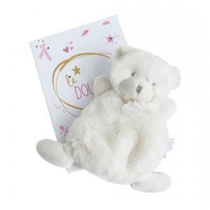 Doudou et compagnie - DC3266 - Le doudou - doudou ours rose - 19 cm - boîte led (367946)