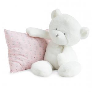 Doudou et compagnie - DC3274 - Le doudou - ours blanc 50 cm (367962)