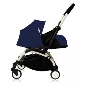 Babyzen - Bu090 - Poussette Yoyo plus cadre blanc pack naissance Bleu Air France (368030)