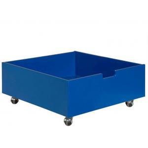 Bopita - 384614 - tiroir de rangement/jouets bas à roulettes BLEU COBALT (368430)