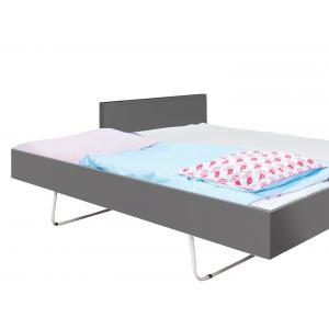 Bopita - 43514620 - TIROIR LIT PLIABLE 90x200 Mix & Match gris foncé (368530)