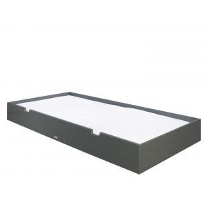 Bopita - 587320 - tiroir Lit 90X200 MIX & MATCH gris profond (368548)