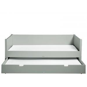 Bopita - 495796 - Lit banquette 90X200 STAN gris pure (368564)