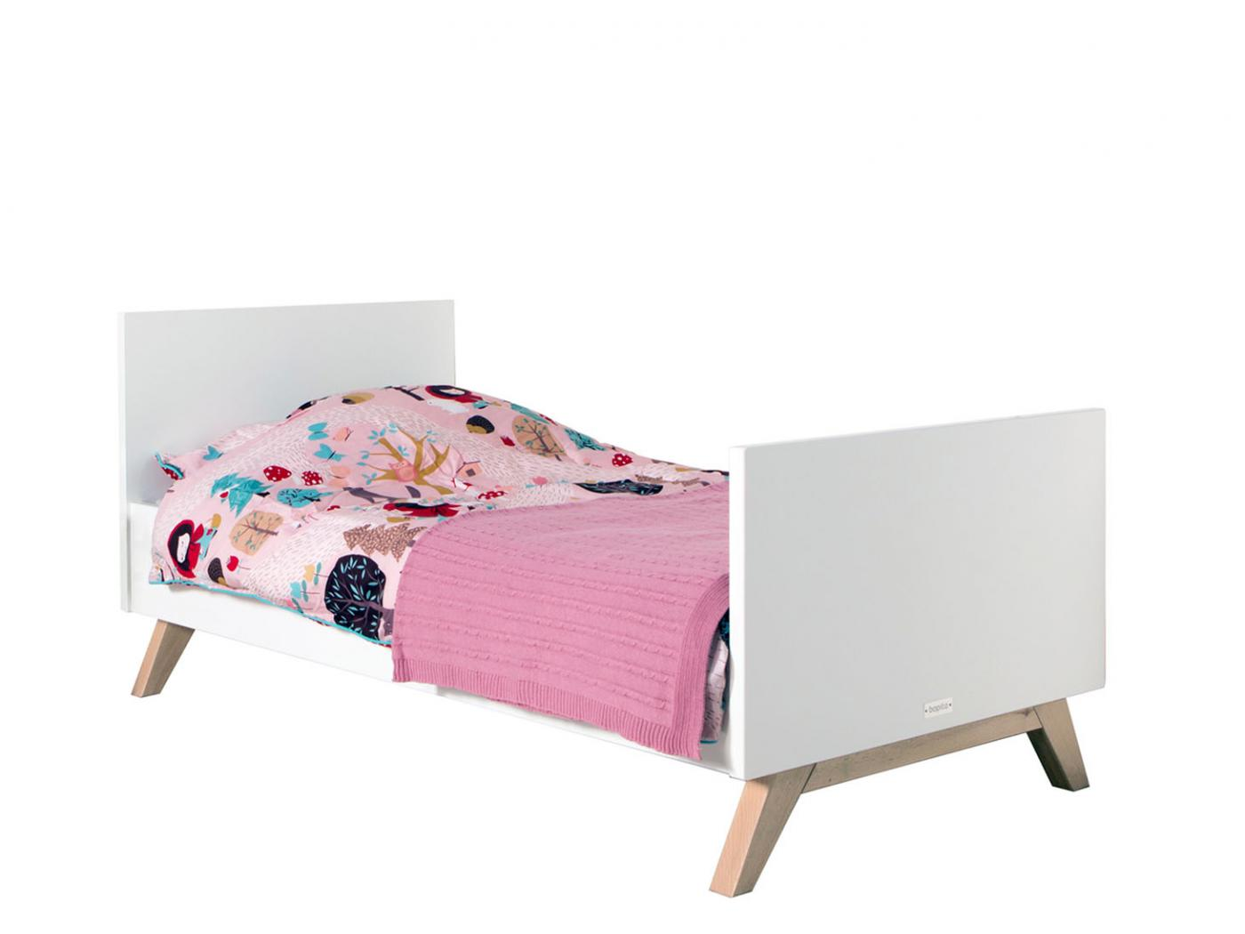 bopita lit enfant lynn rose clair 70x150cm. Black Bedroom Furniture Sets. Home Design Ideas