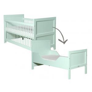 Bopita - 244691 - Lit bébé évolutif Mix & Match mint - 70x140 cm (368640)