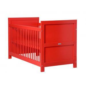 Bopita - 244606 - Lit bébé évolutif Mix & Match rouge - 70x140 cm (368652)