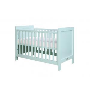 Bopita - 11401704 - Lit bébé Sven bleu clair (barreaux plats) - 60x120 cm (368674)