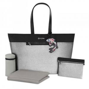 Cybex - 518000055 - Platinum Sac à langer Koi | mid grey (368762)